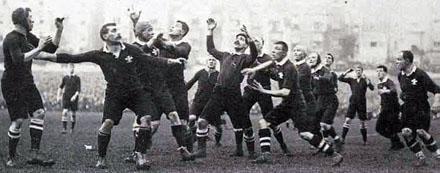 la storia del rugby