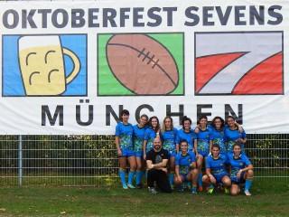 Le Sirio conquistano  il terzo posto all'Oktoberfest Sevens.