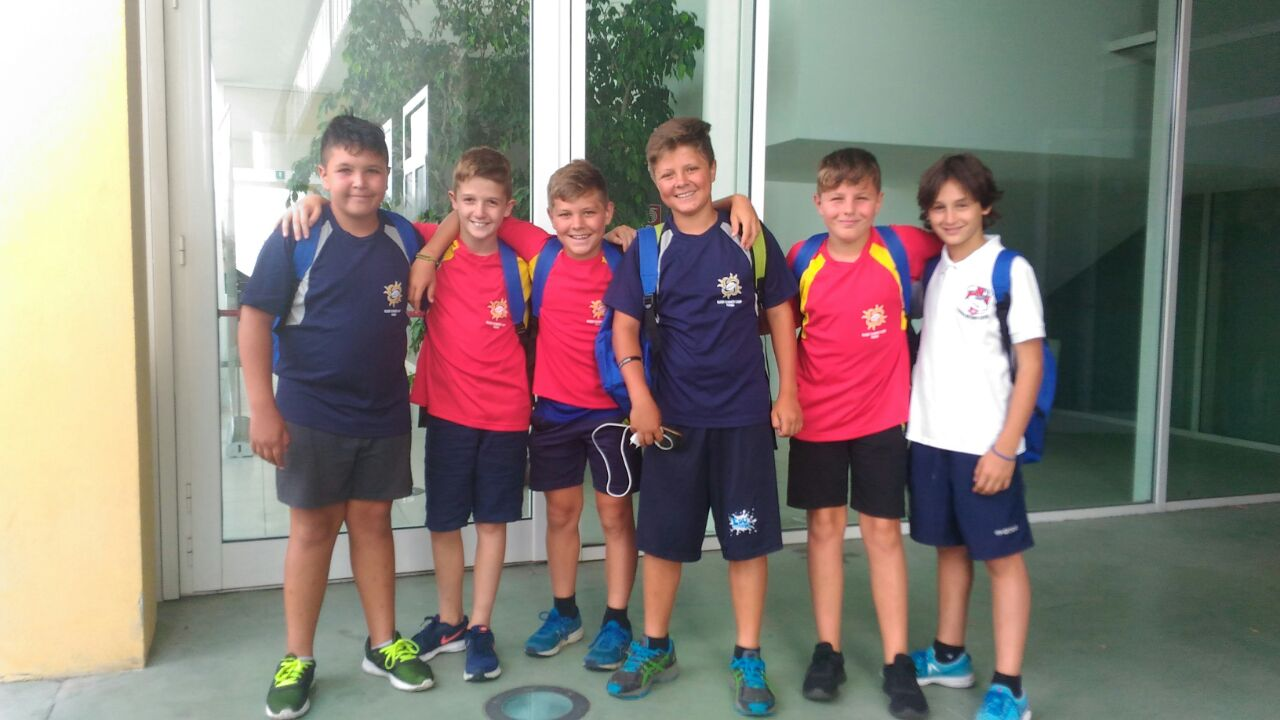 I ns ragazzi al Rugby Summer Camp