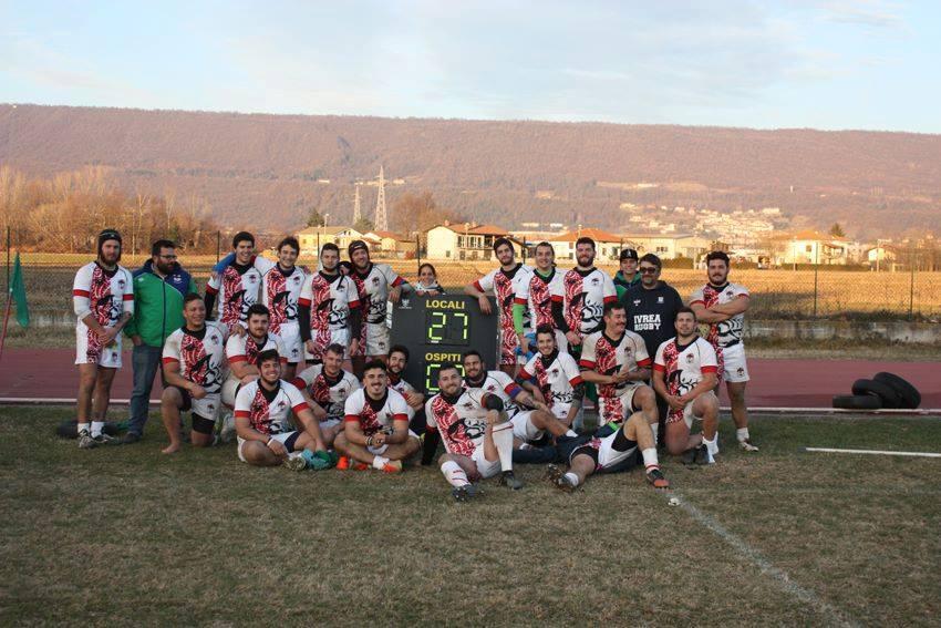 Serie C1 Girone D – VII° Giornata GIRONE D POULE 1:  Ivrea Rugby Club asd  – VII° Torino Rugby 27-07 (5-0)