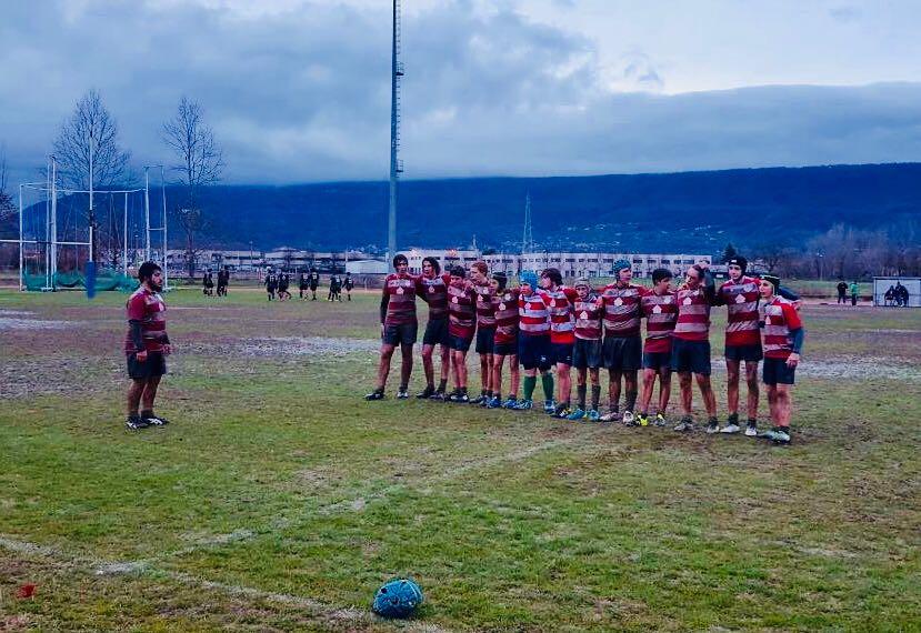 Under 16  II° Giornata GIRONE D s.s. 2017/18 II° Fase – Ivrea Rugby Club asd – Chieri Rugby 29-15