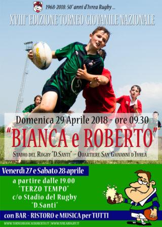 """Presentazione Torneo Giovanile Rugby """"Bianca&Roberto"""" 2018"""