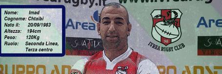 Altro rinforzo per la Seniores IRC dal Pro Recco Rugby Imad Chtaibi