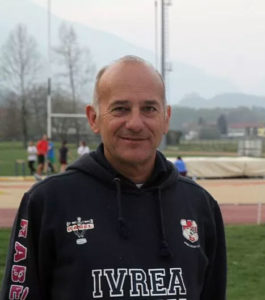 Franco Rosso Presidente Ivrea Rugby CLub
